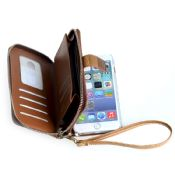 PU Leather Protective Flip Wallet Case for iphone 6s images