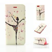 Beautiful Girl Leather Wallet Flip Case Cover images