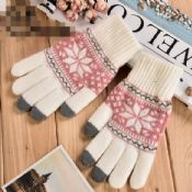 3finger touch screen hand gloves images
