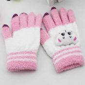 lovely cat touch screen gloves images