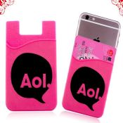 cell phone silicon card holder wallet images
