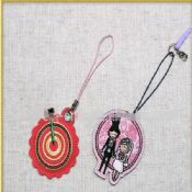 Embroidered mobile phone straps images