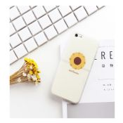 Ultra-Thin Sunflower Matte Phone Case for iPhone 7/7 Plus images
