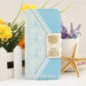 flip PU leather wallet cover for iphone 6 images