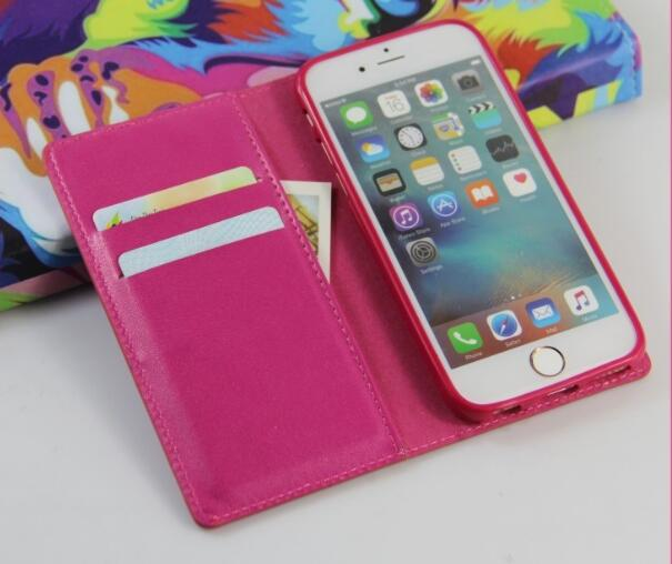 Wallet Flip Phone Case For iPhone 6