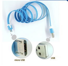 colorful type mirco usb date cable